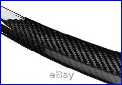 4x BMW Genuine Carbon Fibre Window Wind Deflector Rain Guard 3 Series F30 F80 M3