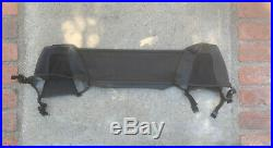 96-02 BMW Z3 Roadster Convertible OEM Top Wind Deflector Diffuser Screen Black