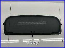96-02 Bmw Z3 E36/7 Roadster Rear Window Wind Deflector Net Mesh Cover Oem