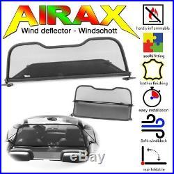 AIRAX Windschott Wind deflector BMW 1er Convertible Modell Typ E88 2008 2013