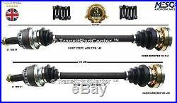 A PAIR OF RIGHT AND LEFT REAR DRIVE SHAFT BMW 3 E90 320d 2004-2011 SALOON
