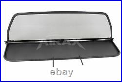 Airax BMW 6er Type (E64) Bj. 2004 2010 Wind Deflector with Quick Release