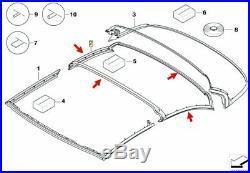 BMW 3er E93 Original Hardtop Dichtung Dachschale Mitte 54377217243 NEU