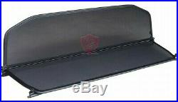 BMW 4 SERIES WIND DEFLECTOR F33 from 2014 TO DATE Black