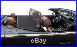 BMW 6 convertible wind deflector (F12) 650, 640, M6 (2011 to 2017)