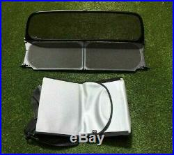 BMW MINI Convertible Wind Deflector & Bag R52 2000-2006 & R57 2006-2013 NEW