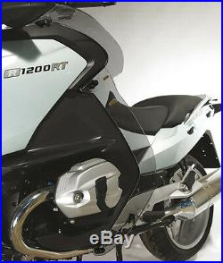 BMW R1200RT Windabweiser, wind deflector, Beinschutz, leg protector, rauchgrau