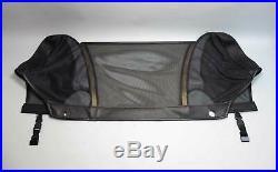 BMW Z3 Roadster Convertible Top Wind Deflector Diffuser Screen Black 1996-2002
