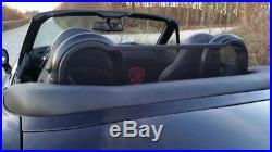 BMW Z3 Roadsterbügel + Windschott Windstop 1995-2003, schwarz NEU