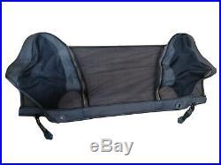 BMW Z3 black wind deflector mesh genuine BMW roll hoop part/accessory
