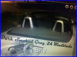 BMW Z4 Dark Smoked Acrylic Windscreen Wind Deflector Windschott