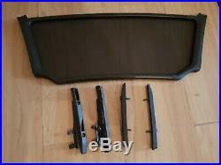 BMW Z4 (E85) Roadster Wind Deflector + brackets GENUINE BMW ACCESSORY 2003-2008