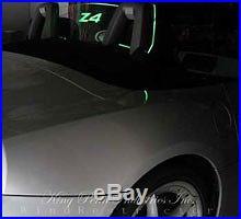 BMW Z4 Wind screen Restrictor deflector windschott blocker Lighted Illumination