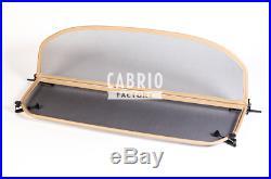 Beige Windblocker BMW E93 2006-2013 Wind Deflector