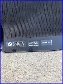 Bmw 428 435 M4 4-series F33 14-17 Oem Windscreen Wind Deflector, P# 7 468 159