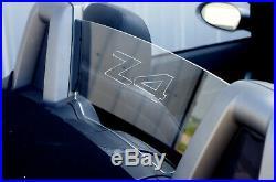 Bmw Z4 e85 defender windscreen wind deflector acrylic glas wind blocker stop
