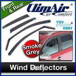 CLIMAIR Car Wind Deflectors BMW 3 SERIES E91 5 Door 2005 onwards SET