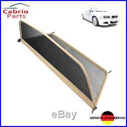 Cabrioparts beige Windschott BMW 3er E46 2000 2007