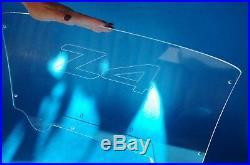 Fit Z4 02-08 E85 Windscreen Wind Deflector Windblocker windschott engraved
