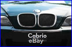 Frontgrill Bmw Z3 Roadster & Coupe 1995-2003 Grilles Top Grille Set Black