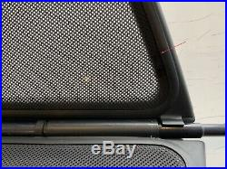 Genuine BMW 3 SERIES E46 Convertible Wind Deflector Windschott + Bag 1998-2007