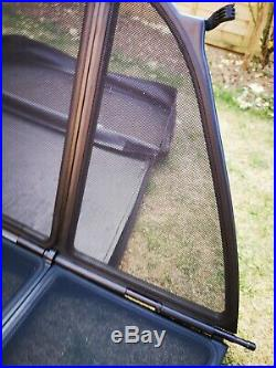 Genuine BMW E46 Convertible Cab Wind Deflector & Case