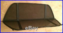 Genuine BMW E46 Convertible Cabriolet Wind Deflector Windschott M3, 320, 330