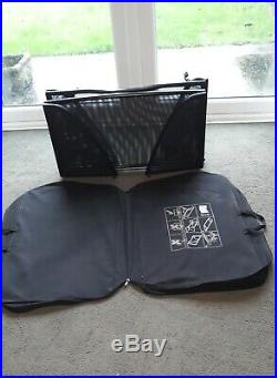 Genuine BMW E46 Convertible Cabriolet Wind Deflector and Case