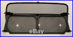 Genuine BMW MINI Convertible Wind Deflector R52 R57 & Bag Immaculate Condition