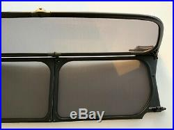 Genuine BMW Mini Convertible R52 to R57 Wind Deflector & Bag Immaculate Cond