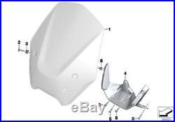 Genuine BMW Motorrad High Windshield Wind Screen Deflector R1200 R 77338534283