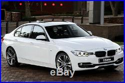 Genuine Carbon Fibre Window Wind Deflector Rain Guard BMW 3 Series E90 F30 F80 M