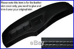 Grey Stitch Dash Dashboard Leather Skin Cover Fits Bmw 5 Series E28 1981-1987