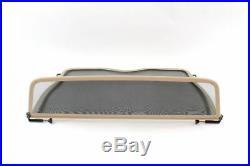 Wind deflector windblocker beige BMW 3 SERIES E30 cabriolet