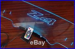 Z4 02-08 E85 Windscreen Wind Deflector BMW Windblocker illuminated engraved